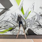 "making of ""DAIMmonomania"" | Exhibitionview: ""Mirko Reisser (DAIM) | monomania"", zone contemporaine, Bern, 2014 | © Mirko Reisser (DAIM) | Courtesy: zone contemporaine / ReinkingProjekte | Photo: Christian Brodak (brophoto.de)"