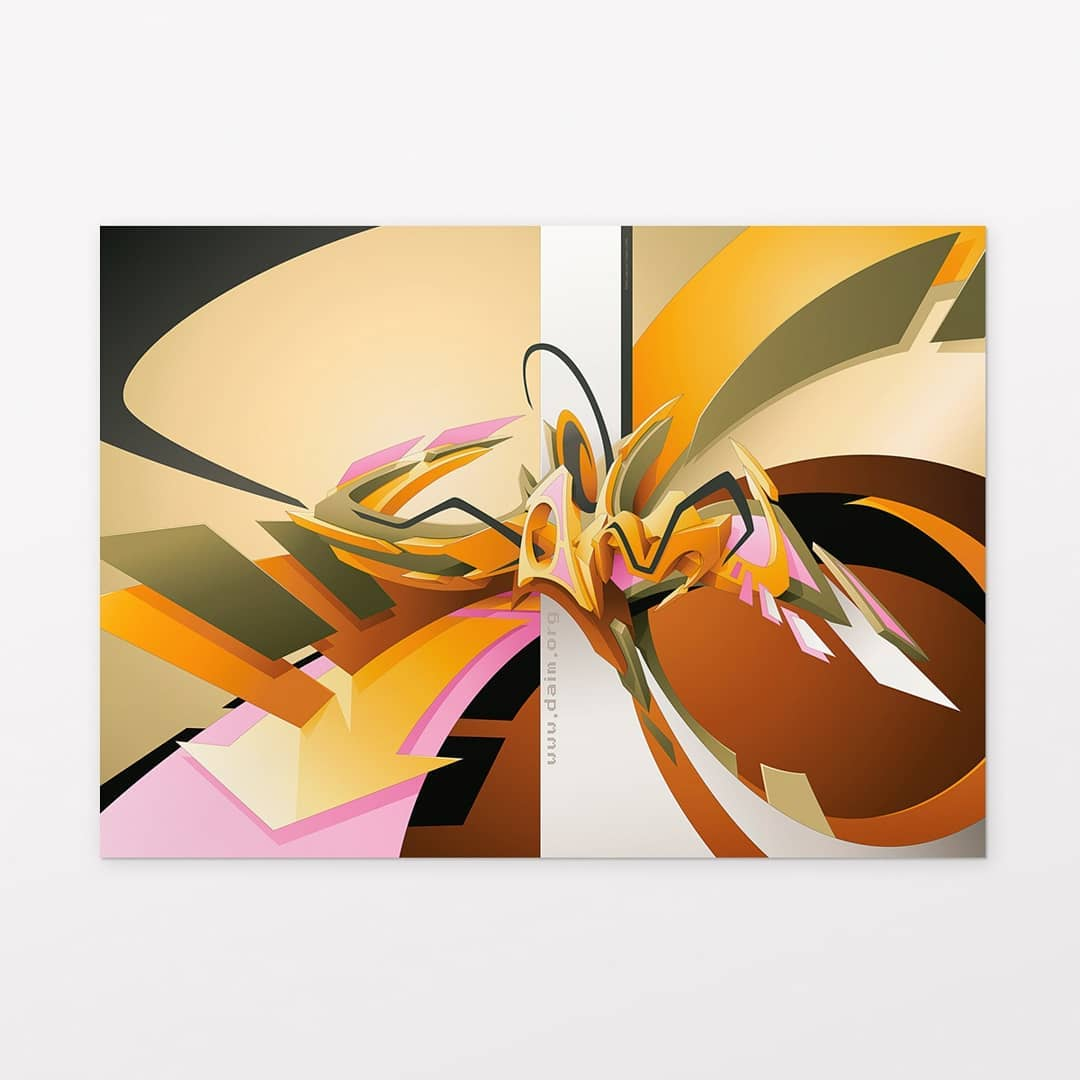 """Lady Lion"" | Poster | 70 x 50 cm | © DAIM"