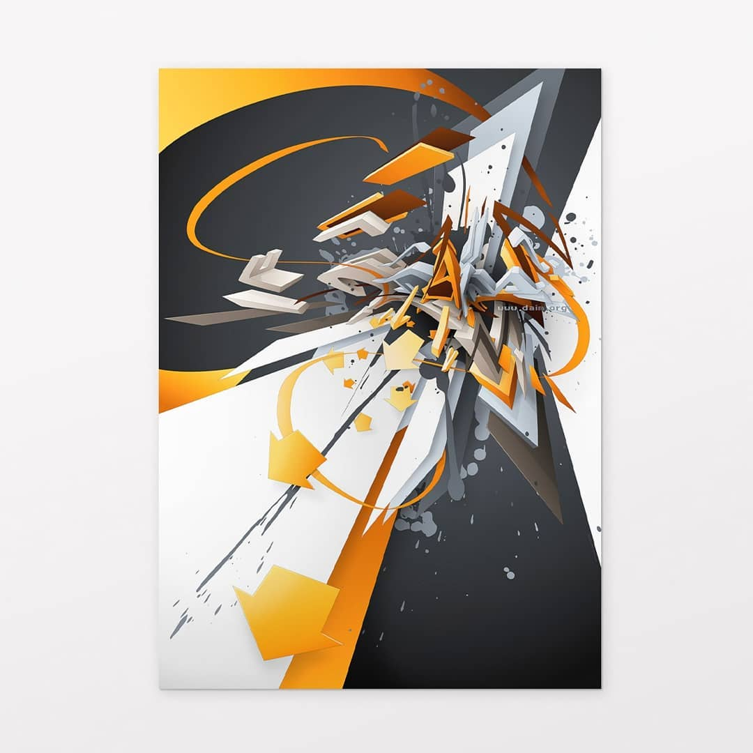 """DAIMaround"" | Poster | 50 x 70 cm | © DAIM"